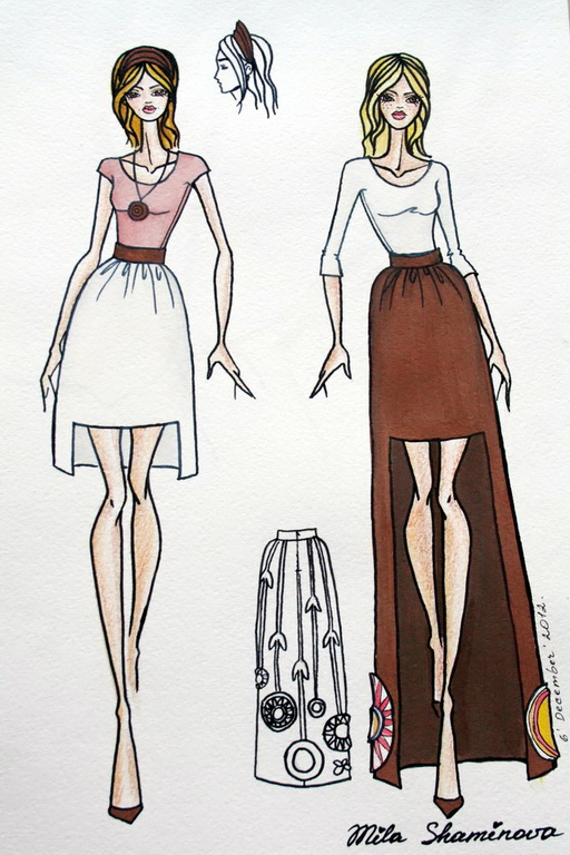 Создание дизайна одежды онлайн